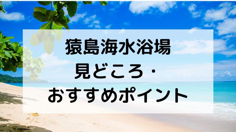 猿島海水浴場の見どころ・おすすめポイント
